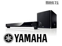 Yamaha 7.1 Soundbar with wireless subwoofer