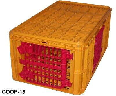 Over-sized Extra High Turkey Transport Crate Bird Coop Poultry Cage 15x39x23