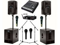 Sound Systems Hire | PA Speakers Hire | Sounds Hire | Lightings | DJ Hire