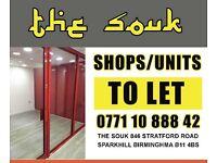 *******Shop to let Stratford road high street sparkhill Birmingham