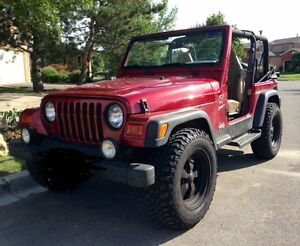 1999 Jeep TJ Sport 8250$ OBO. Safety and emissions included!