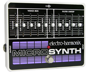 Micro synth EHX pédale
