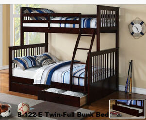 WANTED: Twin over Double/Queen Wooden Bunk bed