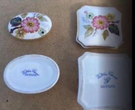 Two Victorian trinket boxes