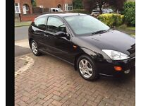 Ford Focus Black Edition (non runner) good service history - clutch gone.