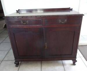 Antique Vintage Small Australian Red Cedar Buffet / Sideboard Bongaree Caboolture Area Preview