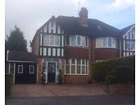 Modern Semi-Detached Large Family Home within the area of Shirley, Solihull