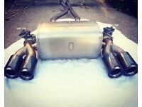 BMW F80 M3 F82 M4 Genuine M Performance Exhaust System With Carbon Tailpipes