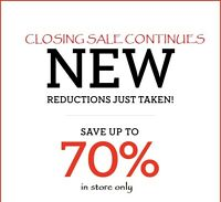 BOE Home and Gift (BriLand Home) is closing SALE