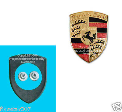For Porsche 911 914 927 Hood Emblem Seal German 7L5 853 611 B