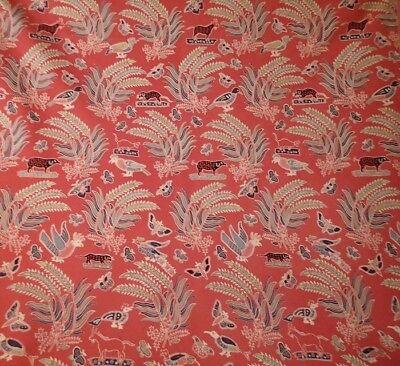 3 yds china seas quadrille sunbrella fabric
