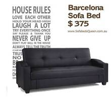 Barcelona sofabed 3 seater with storage Homebush West Strathfield Area Preview