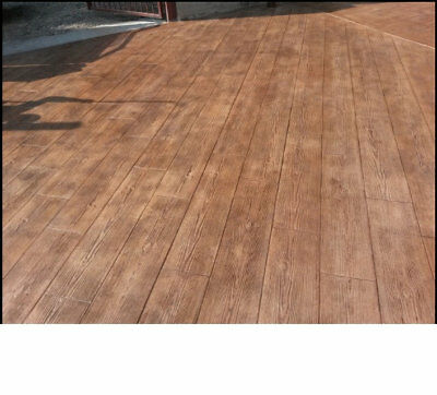 2pcs Set Concrete Stamp Stone Decorative Polyurethane Board For The Floor Tracks