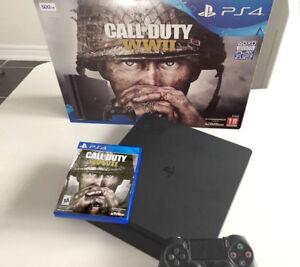 Playstation 4 Slim - Call of Duty World War 2 Bundle