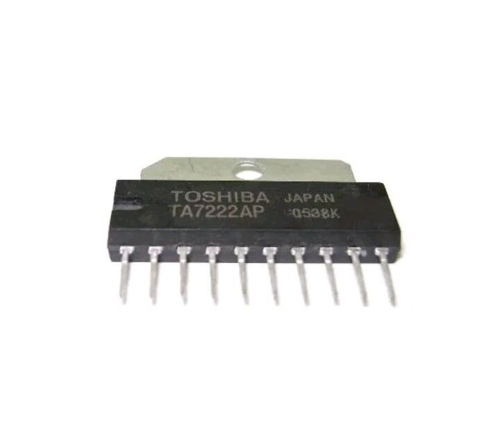 2pcs TA7222AP 5.8W Audio Amplifier  TOSHIBA USA Seller