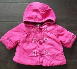 Baby girl fall/winter outwear (3-6 months)