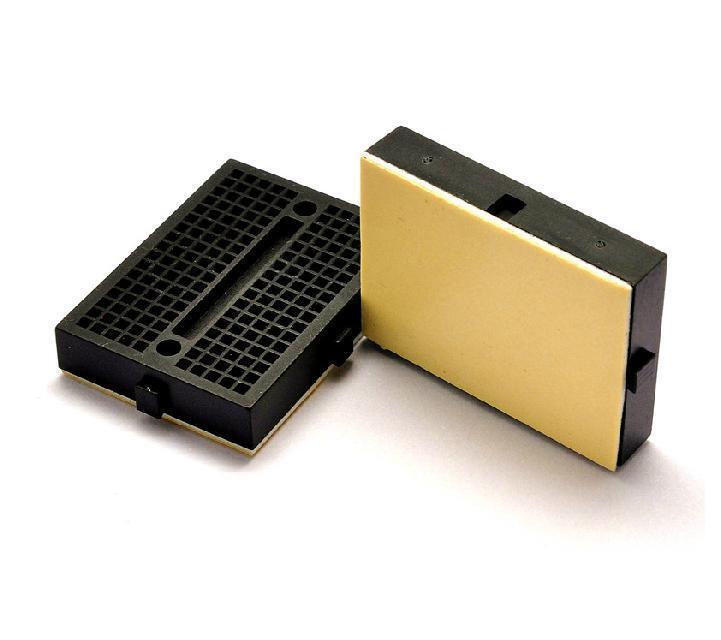 10pcs Mini Black Solderless Prototype Breadboard 170 Tie-points For Arduino