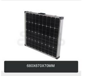 Folding Solar Panel Kit 18V 300W Mono Caravan Boat Camping chargi
