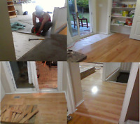 Renovations, flooring, fence, deck, stairs & Skilled Handyman!
