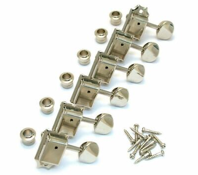 Gotoh Vintage Style Locking Tuners Keys for Fender Strat Tele Style - NICKEL