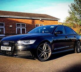 Audi A6 S Line. 2.0 TDI Excellent condition. RS6 wheels