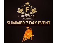 Summer 7 Day Event - Supercar & Luxury Car Hire - Chauffeur - Self Drive - Call Now 0121 517 0207