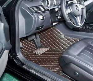 Custom made Premium leather floor mats for All car models-20%OFF