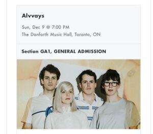 Ticket to Alvvays