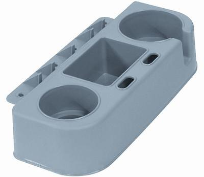 ACTION BOAT SEAT CADDY CUP AND GEAR HOLDER GREY 2971-GREY (FREE SHIPPING)