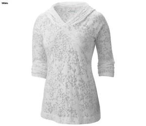 New Columbia See Through White Hoodie for Ladies Large Peterborough Peterborough Area image 1