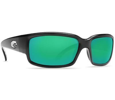 ce3a60f98f2 New Costa del Mar Caballito Polarized Sunglasses Black Green Mirror 400G  Fishing