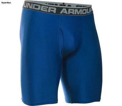 "Under Armour Men's Original 9"" Boxerjock Shorts, Blue, XL, New in box"