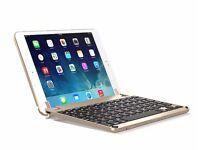 Brand new Brydge Aluminium Gold Bluetooth Backlit Keyboard for Ipad mini 1, 2, and 3