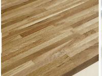 Solid Wood Block 40mm worktop (Howdens)