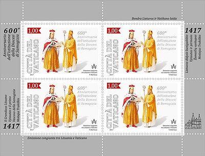 Ватикан Vaticano 2017-600° Arzobispado de Samogitia Hojita