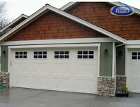 Cornerstone Garage Doors - Broken springs and cables replaced