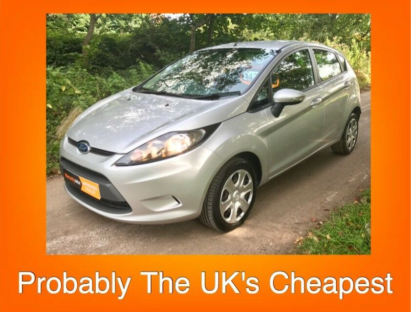 11 Plate Ford Fiesta 1.25 Style (a/c) 5dr with only 41k and FREE WARRANTY