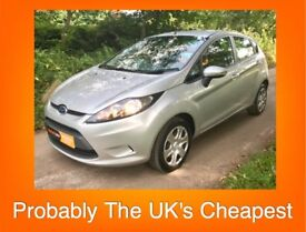 11 Plate Ford Fiesta 1.25 Style *** Probably The UK's Cheapest *** Free Warranty