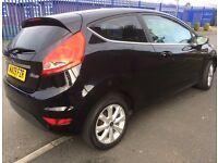 New shape 2009 1.2 Ford Fiesta cheap tax/insurance, excellent 48+ MPG, easy parking, long MOT £2600!