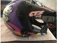Kids motorcross helmet