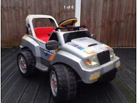Peg perego adventure battery operated ride on car