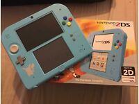Special edition Pokémon 2DS console. Plays DS and 3DS games