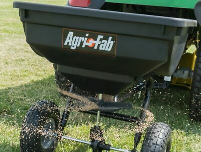 Large Broadcast Hopper Tow Behind Fertilizer Grass Seed Spreader 85 lb Best