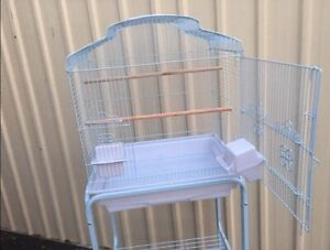 BRAND NEW Great Training bird cage $60: $95 on trolley; Eftpos.