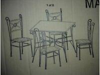 New Dinning set table and Chairs