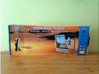 BNIB ~ TV FLAT PANEL WALL MOUNT WITH TILT ~ UP TO 37""