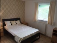 Double bedroom in a shared flat available to professionals and students.