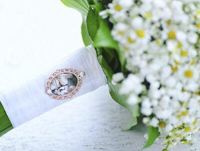 Memorial Anhänger Brautstrauß, Hochzeit, Wedding Accessoires Amulett
