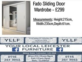 Fado Sliding Door Wardrobe
