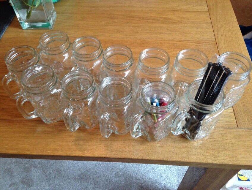Cocktail Jars x12 (Kilner Style)